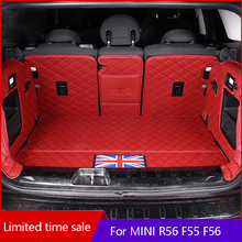 Floor-Mat F56 MINI One-Cooper-S Dust-Protection-Pad BMW Car Rear for One-cooper-s/Jcw/R56/..