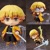 Demon Slayer Anime Figure Agatsuma Zenitsu #1334 PVC Toys Action Figurals Kimetsu no Yaiba Tanjirou Model Brinquedos Doll Figma 1