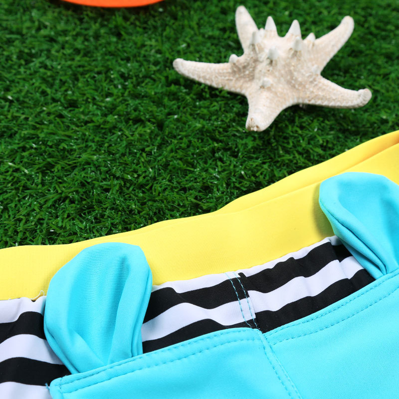 CHILDREN'S Swimwear With Swim Cap BOY'S AussieBum Cartoon Big Boy Baby Swimming Trunks Baby Pavilion