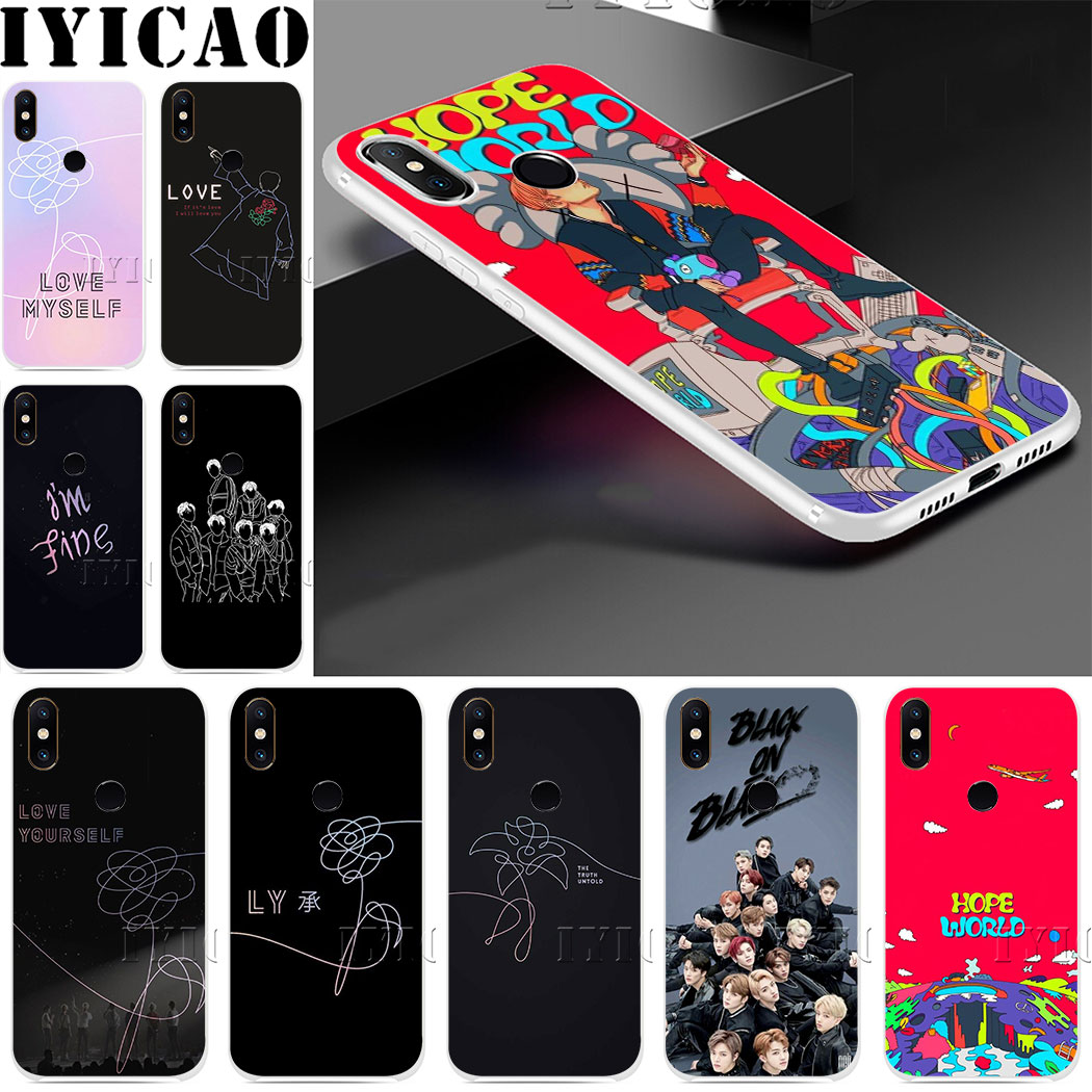 NCT <font><b>127</b></font> Kpop Boy group Hard Case for Redmi 8A 6A 4A S2 Note 7 3 4 4X 6 <font><b>5</b></font> Pro 5A Prime Plus for Redmi Go image