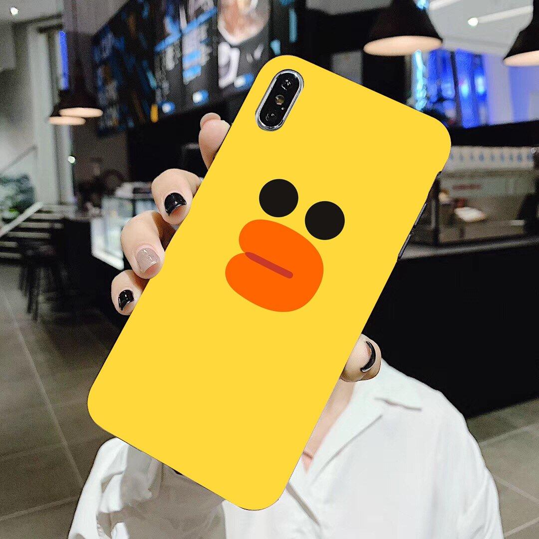 Little Yellow Duck For LG G2 G3 G4 Mini G5 G6 G7 Q6 Q7 Q8 Q9 V10 V20 V30 X Power 2 3 Spirit Silicone Phone Case