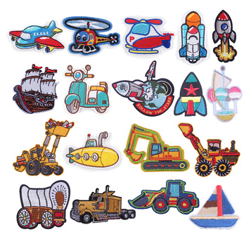 Patches On Clothes Car Aircraft Quality Sew On Badge Cowboy Sticker Appliqued Apparel Garment Decal Iron On Patches For Clothing image
