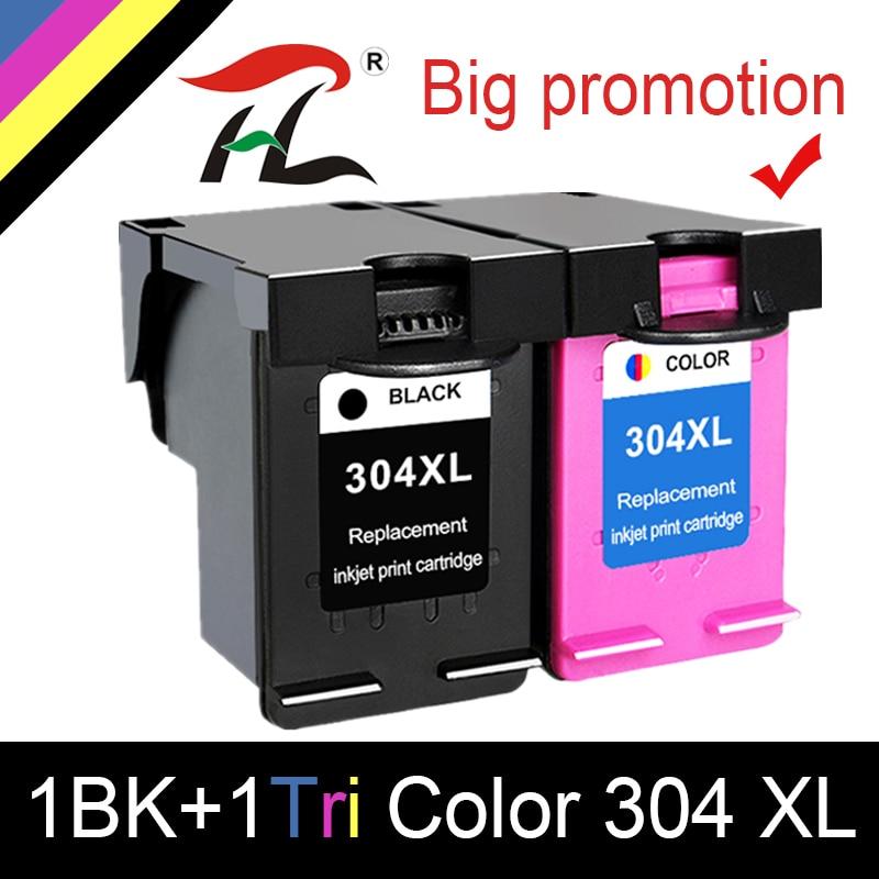 YLC Ink Cartridge 304XL New Version For Hp304 Hp 304 Xl Deskjet Envy 2620 2630 2632 5030 5020 5032 3720 3730 5010 Printer