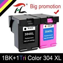 YLC Tinte Patrone 304XL neue version für hp 304 hp 304 xl deskjet envy 2620 2630 2632 5030 5020 5032 3720 3730 5010 drucker