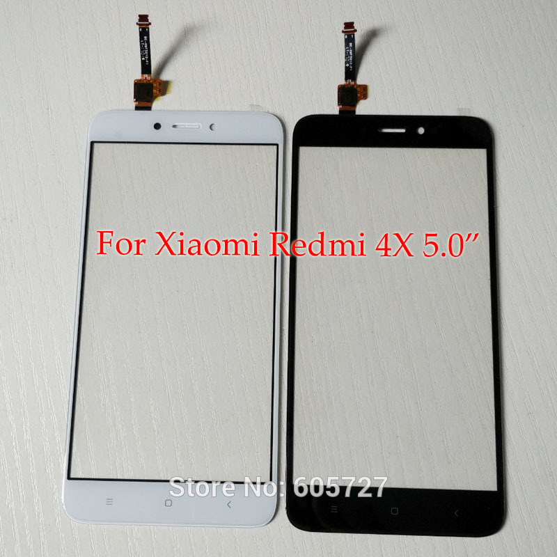 For Xiaomi Redmi 4X Outer Touchpad Digitizer Replacement Parts Redmi4X Touch Screen Front Glass Panel With Tool