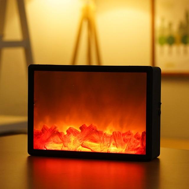 Led Simulation Fireplace Flame  4