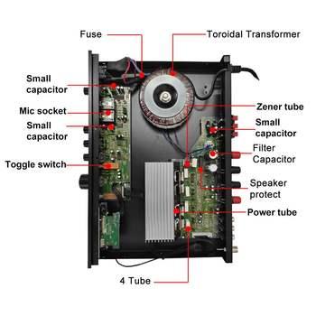 Усилитель мощности SUNBUCK 298BT, Bluetooth, 2/5 каналов 3
