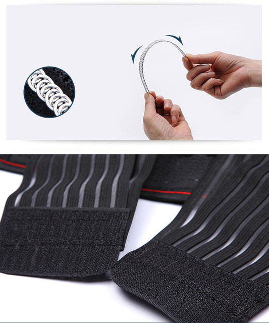 New Arrived Man Polyester Waist Cinchers Plus Size Shapewear Body Shaper Sweat Slimming Belt Fitness Corset Control Tummy Girdle 5