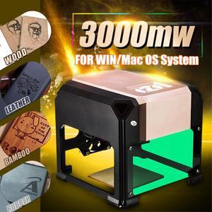 3000mW CNC Laser Carving Machi