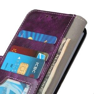 Image 4 - יוקרה רטרו Flip עור ארנק מגנטי סגירת כרטיס חריצי כיסוי מקרה עבור LG K40 K50 K12 בתוספת K12 מקס K12 ראש X4 G8 G8S Thinq Q60 Stylo 5 W30 W10 V50 Thinq 5G