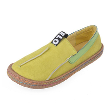 COZULMA Women Breathable Flat Casual Shoes Colorful Sewing Fashion Sneakers Female Slip-on Loafers Shoes Plus Size 35-42 lffz 35 42 flat shoes women slip on shallow mouth casual flat shoes women solid colors loafers soft breathable women sneakers
