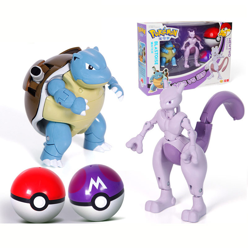 Ball Pokemon Transforming Toys 5