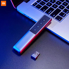 Xiaomi Mijia Guildford 2.4G Wirless Pagina Turner Pen Presenter Laser Flip Pen Ppt Laser Pagina Clicker Met Usb Ontvanger