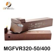 7 شكل الوجه الأخدود القاطع MGFVR 25 مللي متر MGFVR325 مزدوجة رئيس تجهيز المدى 30 إلى 400 كربيد إدراج MGMN300 MRMN الشق أداة