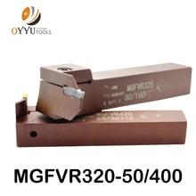 7 Vormige Gezicht Groove Cutter Mgfvr 25 Mm MGFVR325 Dubbele Hoofd Verwerking Bereik 30 Tot 400 Carbide Insert MGMN300 mrmn Steken Tool