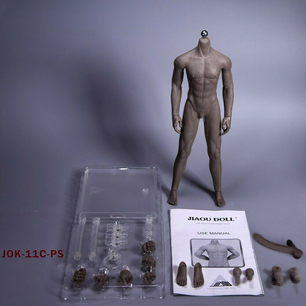 Female Seamless Body Action Figure Model Doll fit Phicen Head 2 Set 1//6 Male