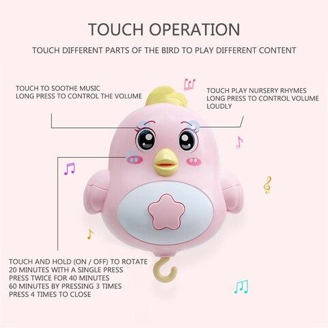 bebe berco moveis chocalhos musica brinquedos educativos