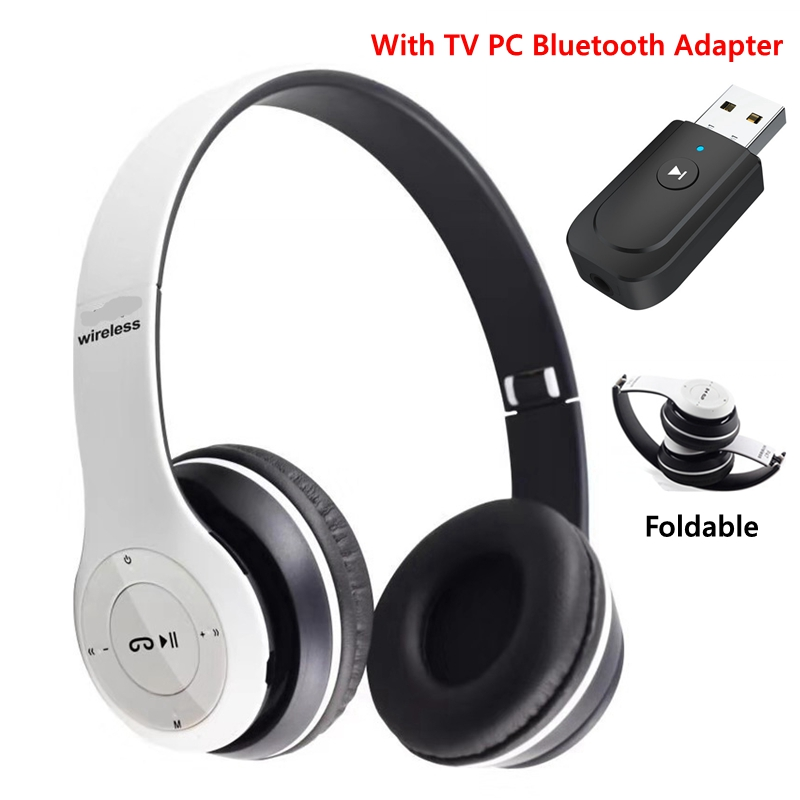 Classical Bluetooth Headphone with Mic TV Computer PC Phone Laptop Tablet Gamer Headset Wireless and Wired Cascos Music Helmet