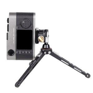 Image 5 - XILETU XBC20 + XT18 גבוהה נושאות שולחן עבודה סוגר מיני חצובה שולחן כדור ראש עבור DSLR מצלמה ראי מצלמה Smartphone