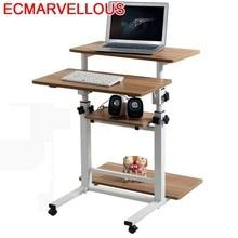 Bureau Meuble Scrivania Tisch Tavolo Para Notebook Bed Mesa Escritorio Laptop Stand Adjustable Bedside Study Table Computer Desk