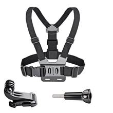 Chest Strap mount belt for Gopro Hero 7/6/5 4K Action Camera Chest Mount Harness for GoPro for SJCAM SJ4000 Sport Cam Fix(China)