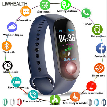 1 3 custom dial smart band watch fitness tracker bracelet hr bp smartband fit for ios xiaomi honor vs mi band 3 4 not xiomi Cheap Smart Band Watch Fitness Bracelet Smartband Step HR Pulseira For IOS/Honor/Xiaomi PK Mi Band 3/4 Fit Bit 5 Not Xiomi