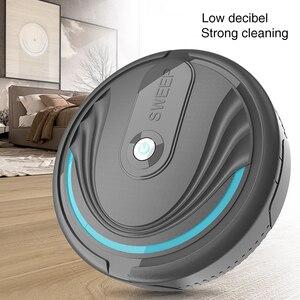 Бытовой Интеллектуальный робот пылесос для дома автоматическая подметальная пыль стерилизовать умная моющаяся Швабра идеально подходит д...