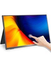 Taktile Tragbare Monitor EVICIV 15,6 Inch TouchScreen 1080P Zweite Display 60HZ Laptop Externen Bildschirm 0,7 kg 1,5 lbs licht & Slim