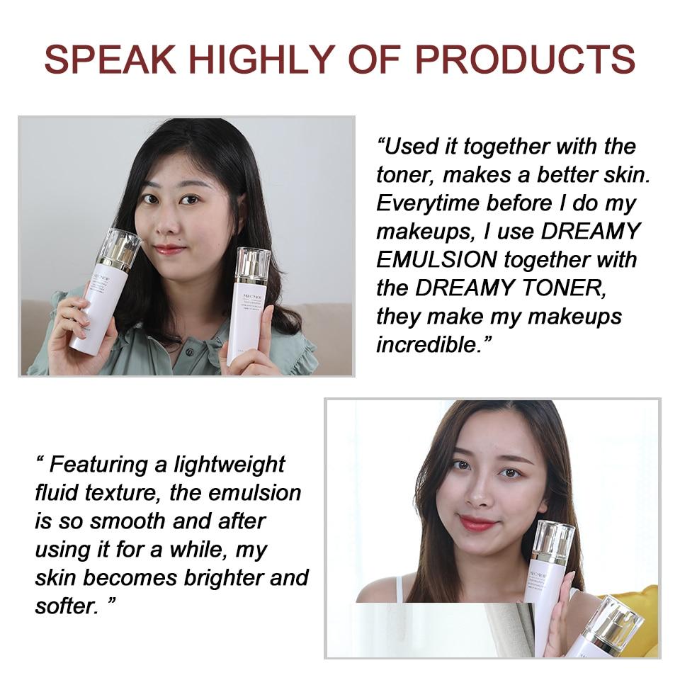 Image 5 - Dreamy Facial Emulsion Face Lotion Multiple Vegeta Essence Extract Moisturizer Skin MECMOR Additive Free Natural Organic 100mlEmulsion   -