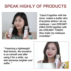 Image 5 - Dreamy Facial Emulsion Face Lotion Multiple Vegeta Essence Extract Moisturizer Skin MECMOR Additive Free Natural Organic 100ml