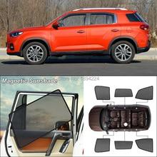 Car Side Windows Magnetic Sun Shade UV Protection Ray Blocking Mesh Visor For Hyundai ix35 2018