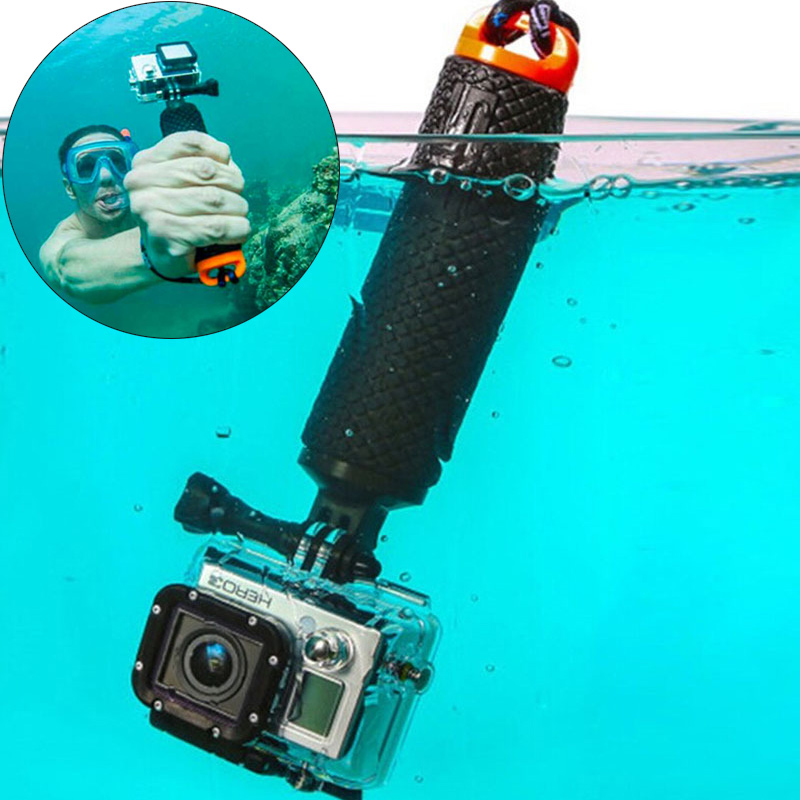 Float Hand Grip Buoyancy Rod Pole Stick Monopod Tripod For Gopro Go Pro Hero 5 4 3 Xiaomi Xiomi Yi 2 4K 4 K Action Sport Camera