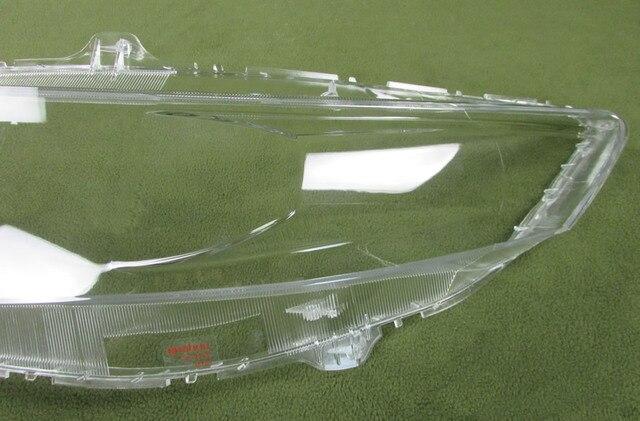 Anteriore Fari di Vetro di Copertura Trasparente Paralumi Lampada Borsette Copertura Del Faro lente Per Honda Spirior 2009 2010 2011 2012 2013
