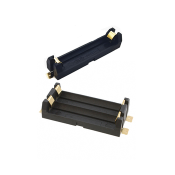 MasterFire 20 unids/lote, caja de almacenamiento con soporte para batería 1,5 V 1x 2x AAA SMD SMT con clavijas de bronce, caja de resorte para baterías de litio de 1 2 ranuras