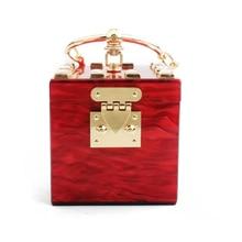 Bolsa sacs à main en acrylique pour femmes, pochettes de soirée, bourse de voyage, fourre tout en pierre, portefeuille Fashion, fête de mariage, bal