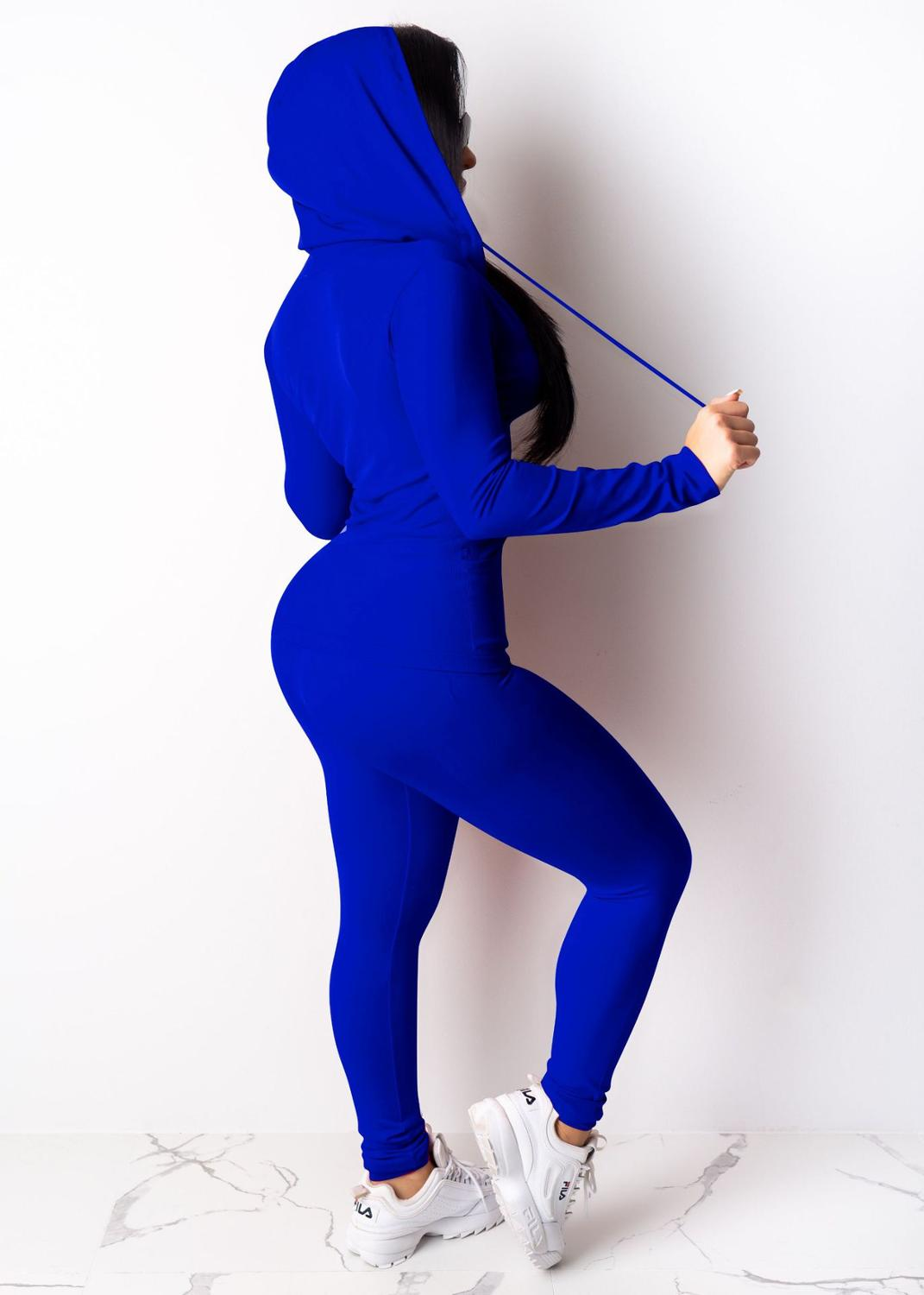 Two Piece Set Tracksuit Women Festival Clothing Fall Winter Top+Pant Sweat Suits Neon 2 Piece Outfits Matching Sets 6