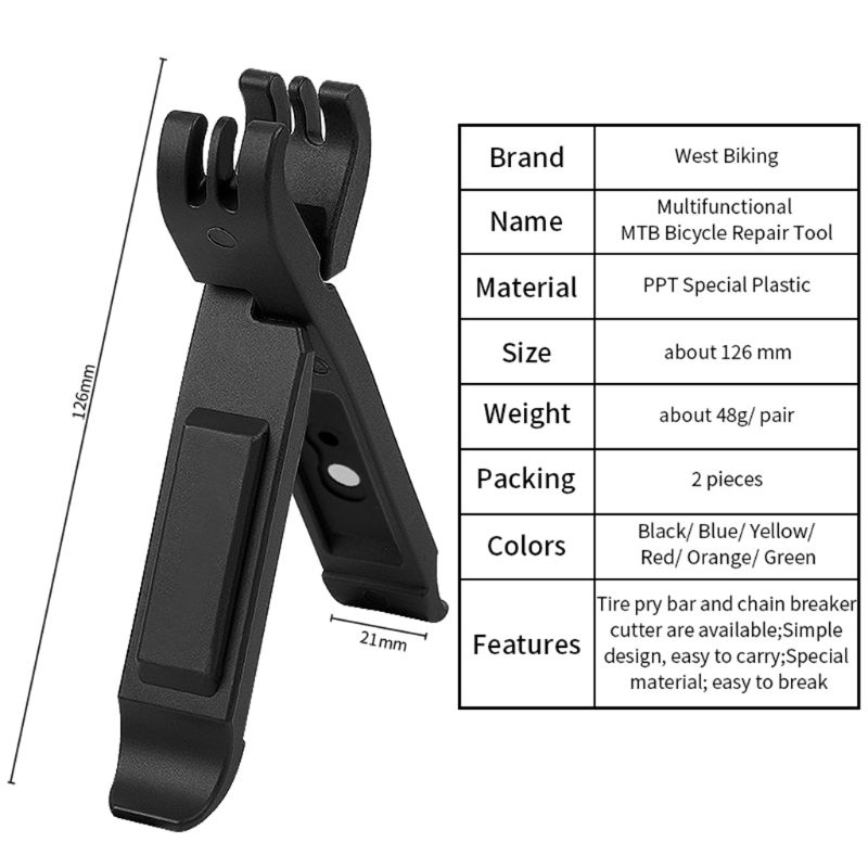 Multifunctional Tire Lever Mountain Road Bike Magic Buckle Disassembly Pliers Q0KF