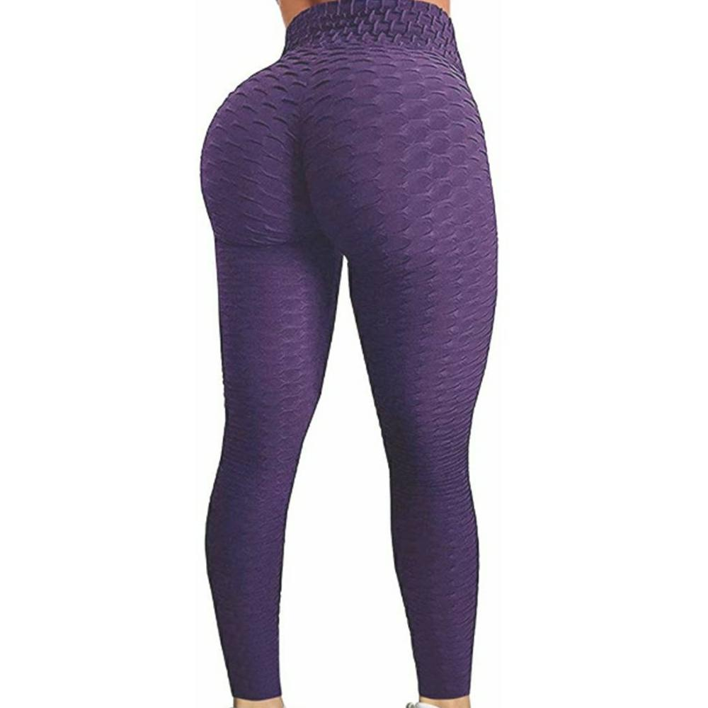 New Solid Sexy Push Up Leggings Women Fitness Clothing High Waist Pants Female Workout Breathable Skinny Black Leggings 21