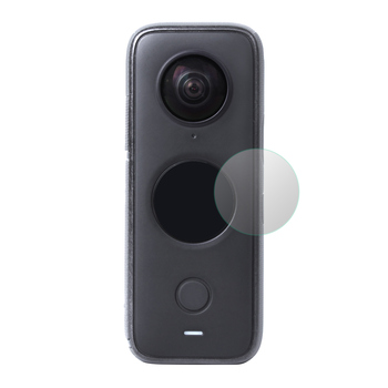 Sunnylife szkło hartowane folia ochronna na ekran HD odporne na zarysowania akcesoria do kamer sportowych do Insta360 ONE X2 tanie i dobre opinie CYNOVA CN (pochodzenie)