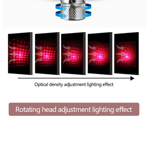 Image 4 - Car Atmosphere Lights Starry Light Interior Car Roof Star Lamp Red Ambient Light Assembly Decor USB Mini Laser Auto Electronic