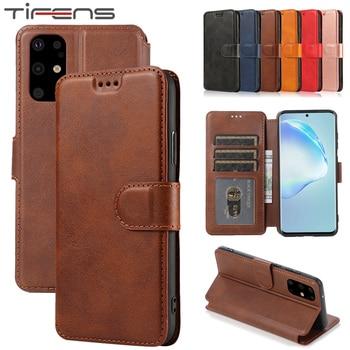 Перейти на Алиэкспресс и купить Кожаный чехол-бумажник для телефона samsung Galaxy A51 A71 A81 A91 A31 A41 S20ultra S10 Note10 Lite Plus A10 A20 A30 A40 A50 A70
