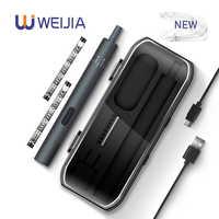 24 pièces de précision réglable Mini tournevis électrique Rechargeable sans fil outils électriques pour ordinateur portable montre caméra réparation