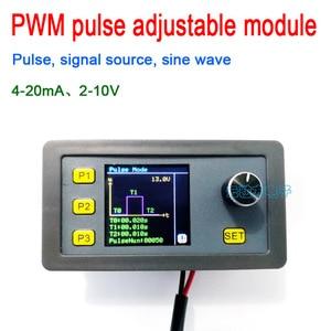 Image 1 - Digitale Display Pwm Pulse Verstelbare Module Signaal Bron Stroom 4 20mA, voltage 2 10V Signaal Generator Sinus 1 1000Hz