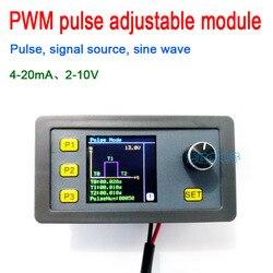 Dykb cyfrowy wyświetlacz PWM moduł regulowany impulsem źródło sygnału prąd 4-20mA  napięcie 2-10V generator sygnału sinusoida 1000HZ