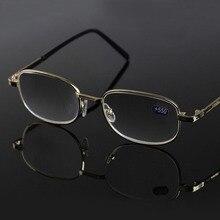 Reading-Glasses Frame Lenses Women 550 Metal Hyperopia 500 600 450 Elderly R151