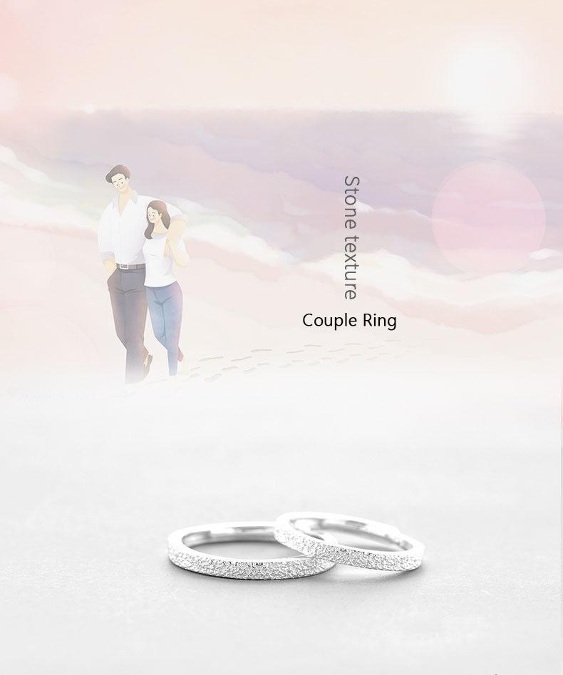 Leouerry 925 пробы серебро минималистичный камень вены кольцо