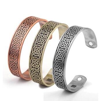 Bracelet Viking wicca cuivre magnétique 1