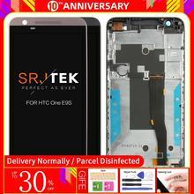 Dành Cho HTC One E9S E9ST E9SW Đen Bộ Số Hóa Màn Hình Cảm Ứng Dán Kính Cường Lực Cảm Biến + Màn Hình LCD Hiển Thị Bảng Điều Khiển Màn Hình Module Lắp Ráp thử Nghiệm Năm 100%