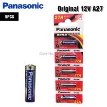 Alkaline-Battery Remote-Control G27A Panasonic L828 A27 MN27 V27GA 5PCS for Doorbell