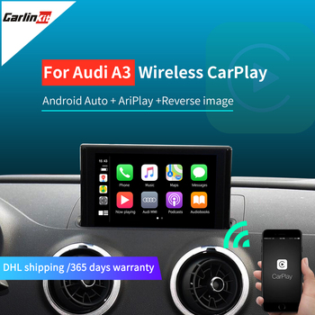 Carlinkit Wireless Apple Carplay Android Auto For Audi A3 8V S3 Q2 B9 for 2010 -2019 5.8inch 7inch Screen Mirrorlink IOS 14 image